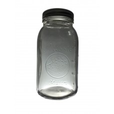Aussie Mason 68mm Mouth (Regular) 950ml QUART Jars & Lids  x 6 - OUT OF STOCK