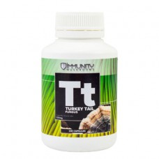 SOLD OUT MORE SOON - Immunity Mushrooms Australian Turkey Tail Supplement capsules 100 pack