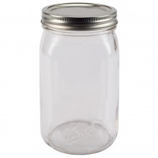 Ball Wide Mouth SMOOTH SIDED Quart Jars & Lids x 12 - NEW - SOLD OUT